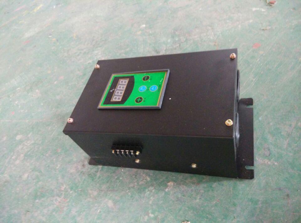 另一端两个插头接到温控器的常开的两个触点,连接好即可试机使用.